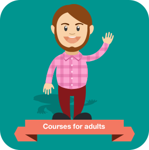 Courses for adults (Image by Freepik.com)